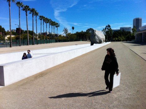 Levitated Mass by artist Michael Heizer